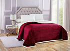 Cozy Oversized Ribbed Ultra Plush Sherpa Blanket Cover - Assorted Colors & Sizes