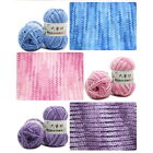 5 Section-Dyeing Middle-Thick Milk Cotton Soft Baby Yarn For Hand Knitting GIFT