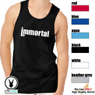 IMMORTAL Men's Muscle Tank T-Shirt Workout Gym BodyBuilding MMA Fitness D528 image