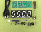 1pcs New Electronic clock production kit DIY electronic clock kit MCU LED digita