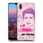 OFFICIAL ONE DIRECTION PINK GRAPHIC FACES HARD BACK CASE FOR HUAWEI PHONES 1