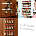 Внешний вид - 4X Spice Rack Shelf Holder Herb Jar Stackable Stand Kitchen Organizer Storage NJ