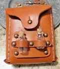 Steampunk Themed Leather Belt Pouches and Bags Hand Stitched Cosplay LARP SCA