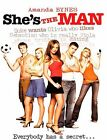 NEW Shes the Man (DVD, 2006, Widescreen SHES Amanda Bynes SOCCER MOVIE