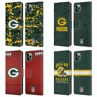 OFFICIAL NFL 2018/19 GREEN BAY PACKERS LEATHER BOOK CASE FOR APPLE iPHONE PHONES