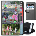 Personalised PU Leather Phone Case, Custom Photo Cover For Apple Huawei Samsung