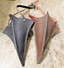 Steampunk Leather 1/2 Plague Mask Handcrafted Handstitched  Cosplay LARP Etc.