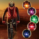 Внешний вид - Light Up LED Reflective Safety Belt Vest Strap Night Running Cycling Glow Flash