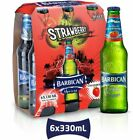 Barbican Non Alcoholic Malt Beverage Strawberry Flavor - 6 Bottles
