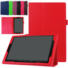 For Amazon Kindle Fire 7/HD10/HD8 2018 Folio PU Leather Shell Case Stand Cover