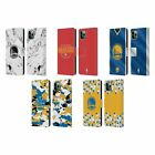 NBA 2018/19 GOLDEN STATE WARRIORS LEATHER BOOK CASE FOR APPLE iPHONE PHONES