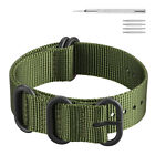 Nylon Replacement Sport Loop Wrist Band for 18mm 20mm 22mm 24mm Smart Wtach
