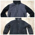 New Boys youth Ring of Fire quilted vest hoodie varsity jacket coat 10 18