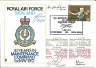 RAF Sealand 30 Years In Maintenance Command Anniversary Flown Cover 1972 Z5041