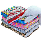 Dog Bed Pet Kennel Cushion Mat Crate Cage Pad Washable Home Blanket Large Small