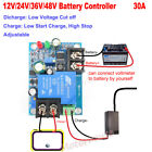 Battery Automatic Low voltage Cut off Charger Over Protection Controller Module
