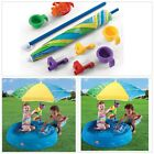 SHADE KIDDIE SWIMMING POOL Durable Poly Plastic Umbrella Toys Inflatable Pools