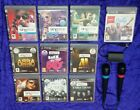 Ps3 Singstar Games + Wired Microphones