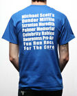 The Office NBC Fun Run Race For Cure Licensed Adult Unisex T-Shirt - Blue