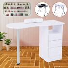 Portable Manicure Nail Table Station Desk Spa Beauty Salon w/Drawers Multi-type