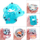 Clear Kawaii Slime Cute Crystal Purity Kid Gag Gift Toy Fish Shape Modeling Clay