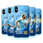 MANCHESTER CITY MAN CITY FC 2018/19 FIRST TEAM GEL CASE FOR APPLE iPHONE PHONES