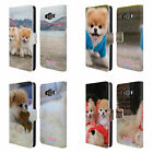 BOO-THE WORLD'S CUTEST DOG PLAYFUL LEATHER BOOK WALLET CASE FOR SAMSUNG PHONES 2