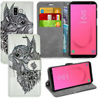 For Samsung Galaxy J6 Plus SM-J610F Case Phone Wallet Cover Leather Book +Stylus