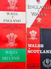 Wales Rugy Programmes 1960's and 70's