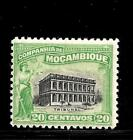 HICK GIRL STAMP- BEAUTIFUL MINT PORTUGAL-MOCAMBIQUE CO. STAMP SC#131  J544