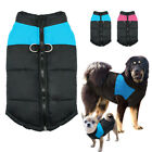 Waterproof Dog Winter Coats Clothes Jacket for Yorkie Pitbull Blue Pink S-5XL