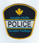Canadian Pacific / Canadien Pacifique CP Railway CANADA Police patch - NEW!