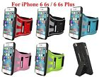 AMZER Jogging Gym Arm band Snap On Holster Fit Case Stand For iPhone 6 6s Plus +