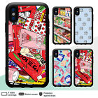 iPhone X XR XS MAX 8 7 6 Case Japanese Snack Illustration Rubber Cover For Apple