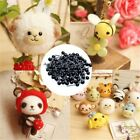 Kyпить 100Pcs Glass Eyes 2/3/4mm Needle Felting Teddy Bears Dolls Animal Black Eyes UK на еВаy.соm
