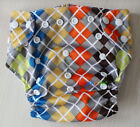 Baby Infant Reusable Cloth Diaper Hip Snap Pocket Nappy Cover, One size fit most