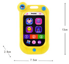 Electric Musical Colorful Toy Phone Infant Crib Baby Rattle Hand Bell for Baby