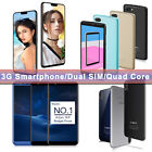 """5.5"""" 3g Smartphone Dual Sim Android Unlocked Mobile Phone 1+8gb/2+16gb 3g 4 Core"""
