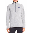 Patagonia Women's Better Sweater Jacket 1/4 Zip Fleece, Birch White