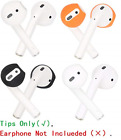 JNSA [Fit in The Case] Ear Tips Covers Gels Buds for AirPods, AirPod Cover