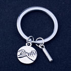 Pinky Promise Keychain Keyring A-Z Initials Letter Charm Key Ring Jewelry Gift