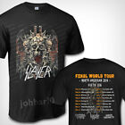 Slayer Band Final Wolrd Tour 2019 Fifth Leg T SHIRT S-3XL MENS image