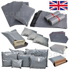 Grey Mailing Bags Self Seal Strong Postage Postal Poly Pack (250x350mm 10