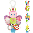 Cartoon Animal Newborn Bed Stroller Rattle Baby Mobile Toy For Baby Kids Crib