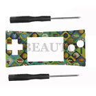 Replacement Faceplate Skin Front Shell Cover Case for Nintendo Gameboy Micro GBM