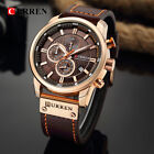 Curren Mens Sports Military Quartz Watch Waterproof Wristwatch Relogio Masculino image
