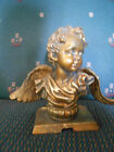 ANGEL BUST, MADE OF BRASS? 6 1/2 IN TALL