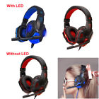 USB 3.5mm Stereo Wired Gaming Earphones HeadbandMic with Mic For Tablet Computer