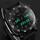 INFANTRY MENS DIGITAL QUARTZ WRIST WATCH CHRONOGRAPH DATE ALARM BLACK ARMY SPORT image