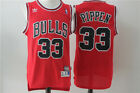 NWT Scottie Pippen #33 Chicago Bulls mens Jersey Stitched S-2XL